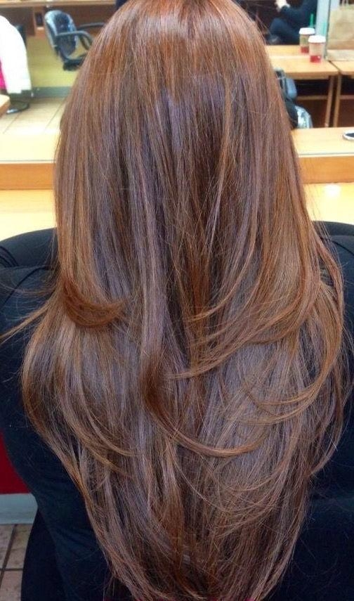 Best 25+ Long Hair With Layers Ideas On Pinterest | Hair Long Regarding Long Hairstyles Cut In Layers (View 6 of 15)