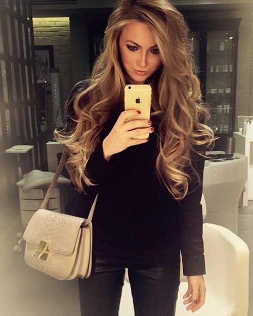 Best 25+ Long Loose Curls Ideas On Pinterest | Loose Curls, Long In Long Hairstyles Loose Curls (View 4 of 15)