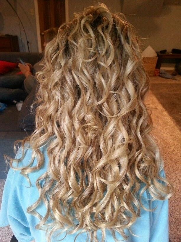 Best 25+ Long Permed Hairstyles Ideas On Pinterest | Perms Long Pertaining To Long Hairstyles Permed Hair (View 10 of 15)