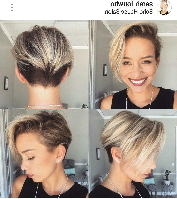 Best 25+ Long Pixie Hairstyles Ideas On Pinterest | Pixie Cut For Long Elfin Hairstyles (View 8 of 15)