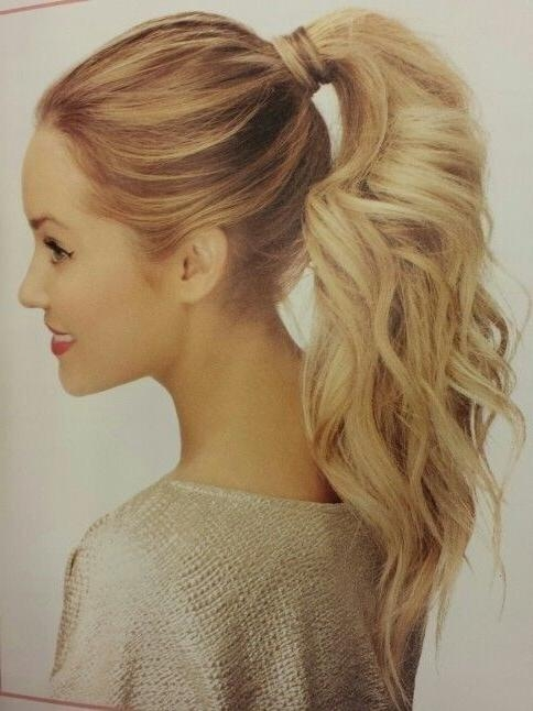 Best 25+ Long Ponytail Hairstyles Ideas On Pinterest | Braided Throughout Long Hairstyles In A Ponytail (View 7 of 15)