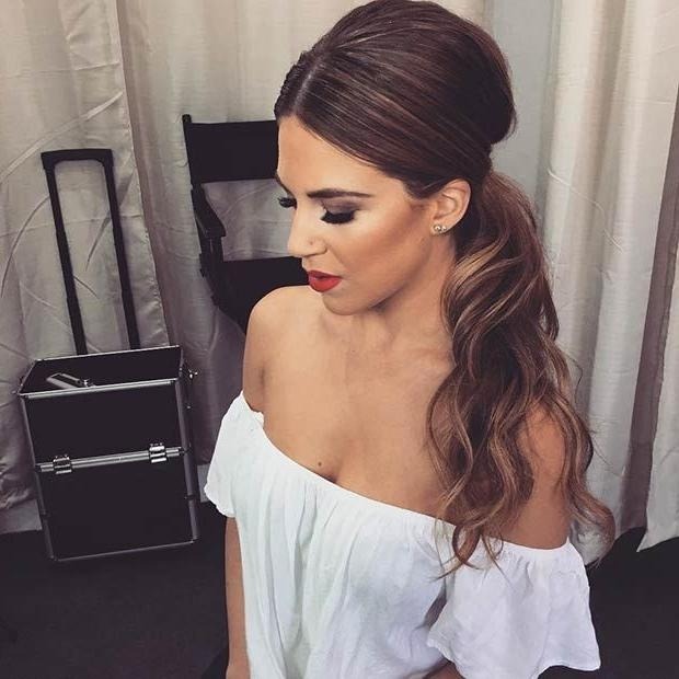 Best 25+ Long Ponytail Hairstyles Ideas On Pinterest | Braided With Regard To Long Hairstyles Elegant (View 15 of 15)