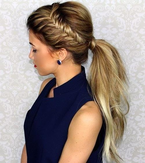 Best 25+ Long Ponytail Hairstyles Ideas On Pinterest | Braided Within Long Hairstyles Ponytail (View 8 of 15)