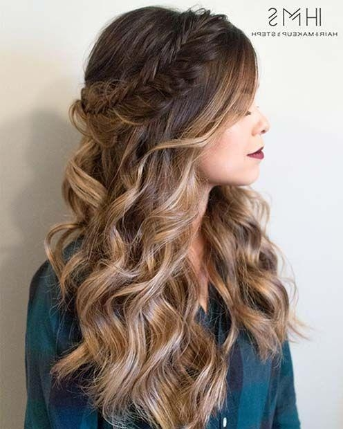 Best 25+ Long Prom Hair Ideas On Pinterest | Long Bridal Hair Inside Long Hairstyles For Prom (View 4 of 15)