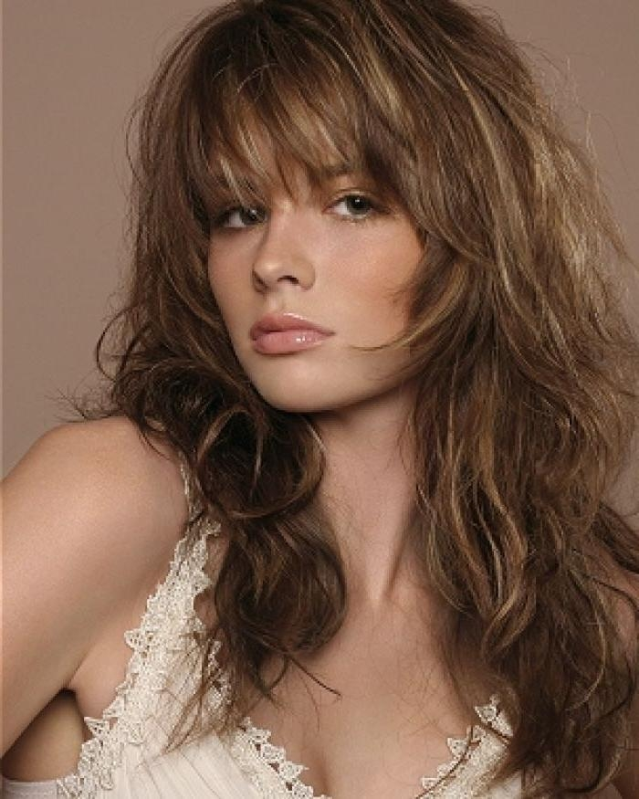 Best 25+ Long Shaggy Hairstyles Ideas On Pinterest | Mid Length Intended For Shaggy Hairstyles For Long Hair (View 8 of 15)