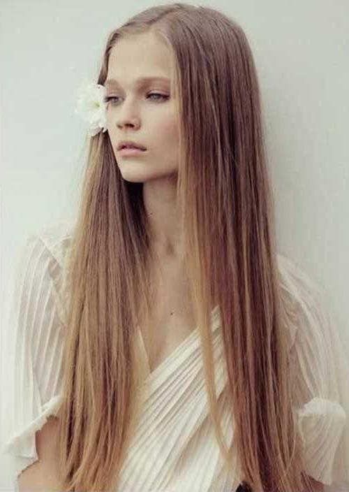 Best 25+ Long Thin Hair Ideas On Pinterest | Growing Long Hair In Cute Hairstyles For Thin Long Hair (View 5 of 15)