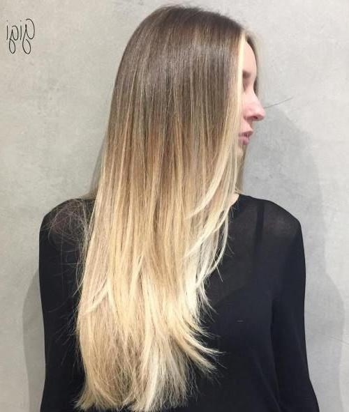 Best 25+ Long Thin Hair Ideas On Pinterest | Growing Long Hair Pertaining To Long Hairstyles Thin Hair (View 9 of 15)