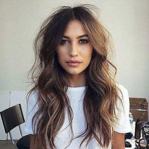 Best 25+ Long Thin Hair Ideas On Pinterest | Growing Long Hair With Regard To Long Hairstyles Thin Hair (View 10 of 15)