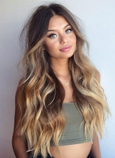 Best 25+ Long Wavy Hairstyles Ideas On Pinterest | Medium Wavy Bob Pertaining To Long Hairstyles Wavy (View 5 of 15)