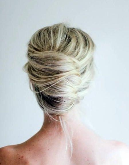 Best 25+ Medium Length Updo Ideas On Pinterest | Medium Length Intended For Medium Long Hair Updos (View 10 of 15)