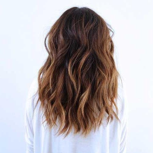 Best 25+ Medium Long Haircuts Ideas On Pinterest | Long Length Regarding Long Hairstyles Cuts (View 14 of 15)