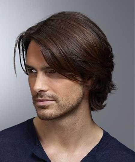 Best 25+ Mens Medium Length Hairstyles Ideas On Pinterest | Medium Regarding Medium Long Hairstyles For Guys (View 2 of 15)