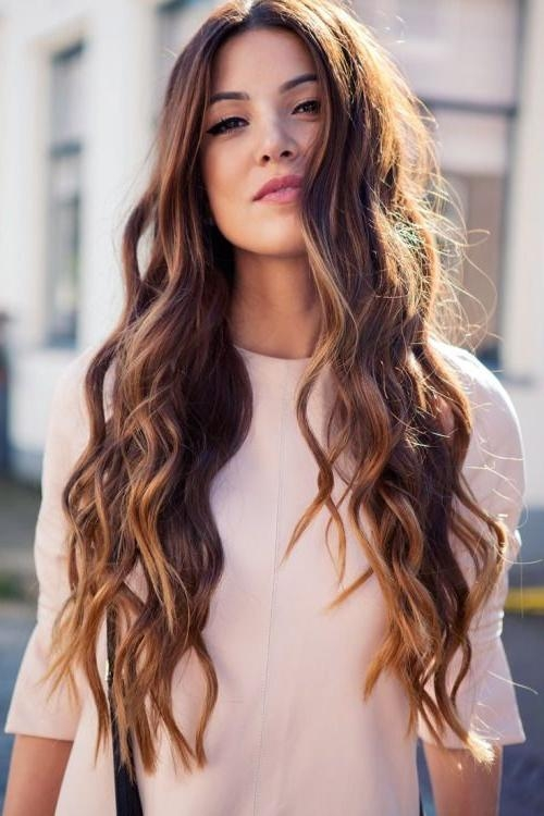 Best 25+ Mermaid Waves Ideas On Pinterest | Beach Hair Color, Long Within Long Hairstyles Beach Waves (View 10 of 15)