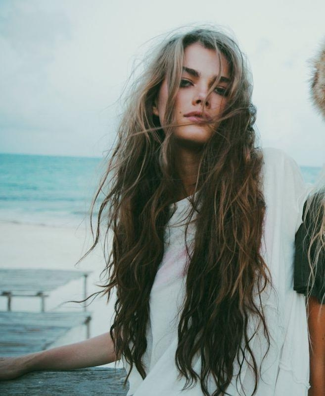 Best 25+ Messy Beach Waves Ideas On Pinterest | Beach Waves, Beach Inside Long Hairstyles Beach Waves (View 11 of 15)