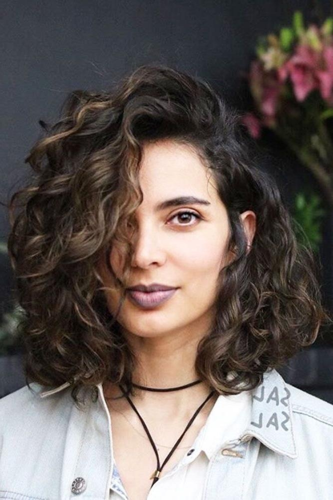 Best 25+ Naturally Curly Bob Ideas On Pinterest | Curly Bob, Curly With Regard To Long Hairstyles Natural (View 9 of 15)