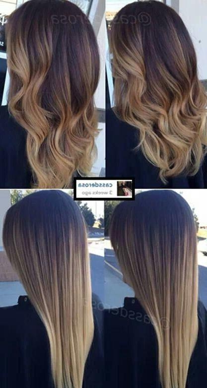 Best 25+ Ombre On Dark Hair Ideas On Pinterest | Ombre For Dark Within Long Hairstyles Colors (View 13 of 15)