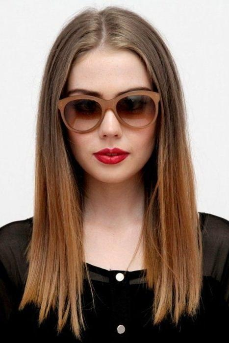 Best 25+ One Length Hair Ideas Only On Pinterest | Shoulder Length Within Long Hairstyles One Length (View 3 of 15)