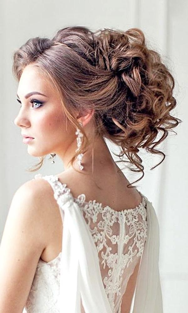 Best 25+ Pageant Hair Updo Ideas On Pinterest | Curly Bridesmaid Regarding Long Hairstyles Pulled Up (View 11 of 15)