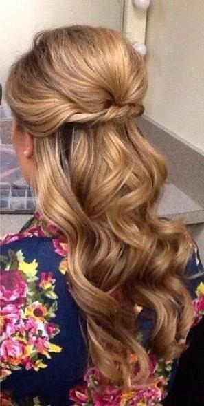 Best 25+ Partial Updo Ideas On Pinterest | Half Up Half Down Inside Long Hairstyles Half Up (View 10 of 15)
