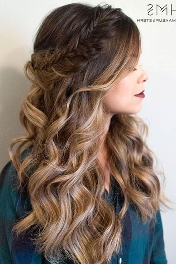 Best 25+ Prom Hairstyles Down Ideas On Pinterest | Prom Hair Down Regarding Long Hairstyles Down For Prom (View 10 of 15)