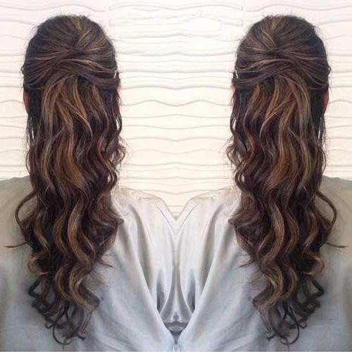 Best 25+ Prom Hairstyles Down Ideas On Pinterest | Prom Hair Down Within Long Hairstyles Down For Prom (View 11 of 15)