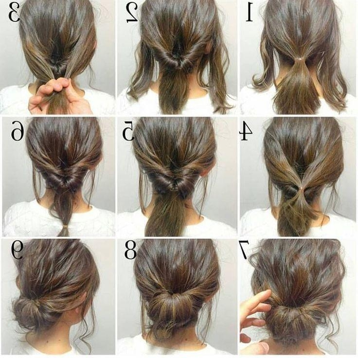 Best 25+ Quick Easy Updo Ideas Only On Pinterest | Quick Easy Inside Long Hairstyles Easy And Quick (View 8 of 15)