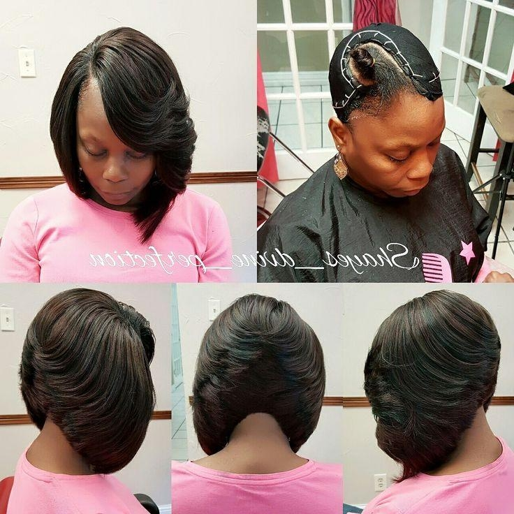 Best 25+ Quick Weave Hairstyles Ideas Only On Pinterest   Quick Inside Long Bob Quick Hairstyles (View 11 of 15)