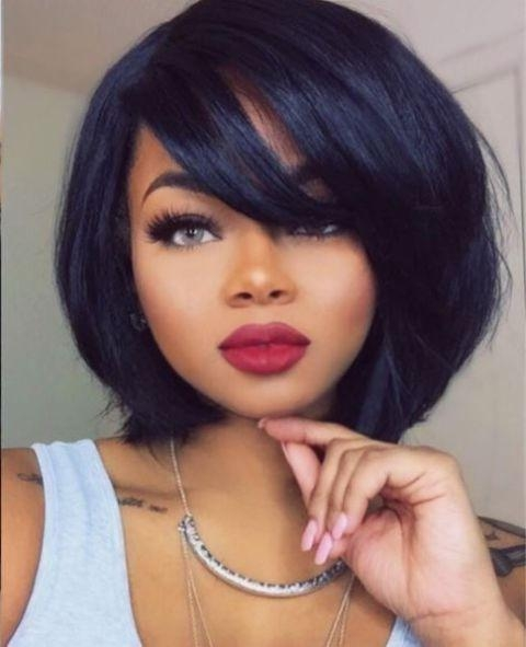Best 25+ Quick Weave Hairstyles Ideas Only On Pinterest | Quick Throughout Long Bob Quick Hairstyles (View 15 of 15)