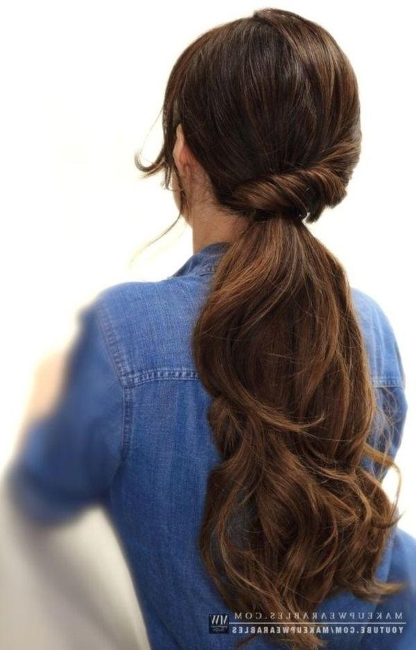 Best 25+ Quick Work Hairstyles Ideas On Pinterest | Quick Easy With Regard To Quick Long Hairstyles For Work (View 11 of 15)