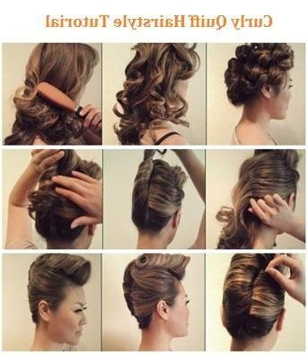 Best 25+ Quiff Hairstyles Ideas Only On Pinterest | Quiff Men Intended For Womens Long Quiff Hairstyles (View 10 of 15)