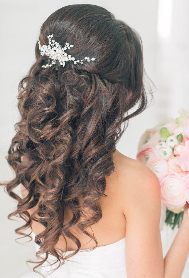 15 Best Collection Of Long Curly Quinceanera Hairstyles