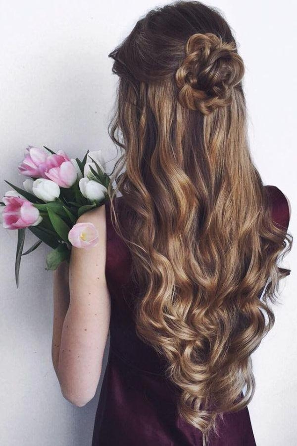 Best 25+ Quinceanera Hairstyles Ideas On Pinterest | Quince With Long Curly Quinceanera Hairstyles (View 15 of 15)