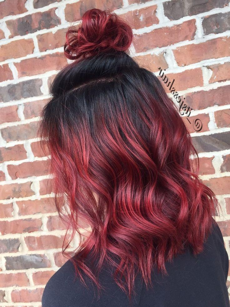 Best 25+ Red Ombre Ideas Only On Pinterest | Red Blonde Ombre, Red With Long Hairstyles Red Ombre (View 9 of 15)