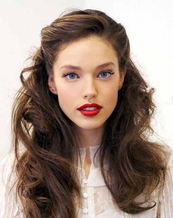 Best 25+ Retro Hairstyles Ideas On Pinterest | Vintage Hair, Easy Regarding Vintage Hairstyles For Long Hair (View 3 of 15)
