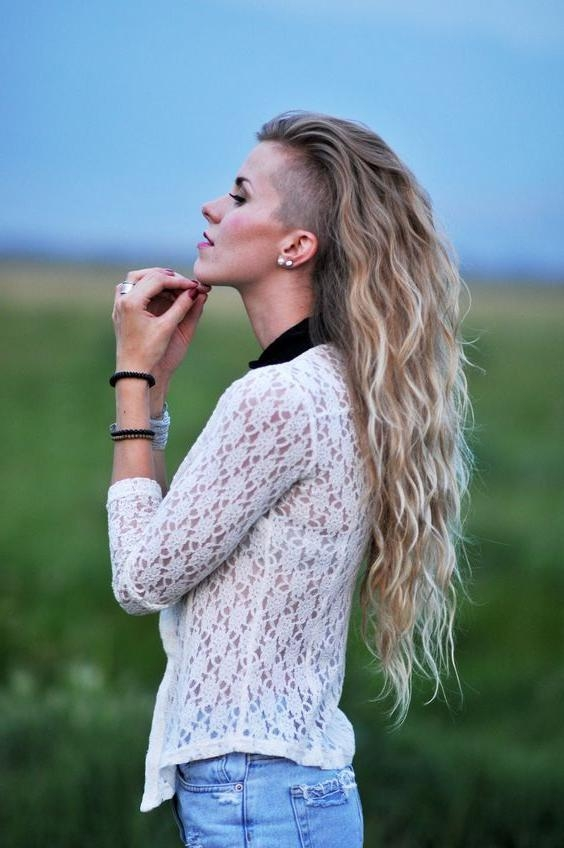 Best 25+ Shaved Sides Ideas On Pinterest | Shaved Side Hairstyles For Long Hairstyles Shaved Side (Gallery 13 of 15)
