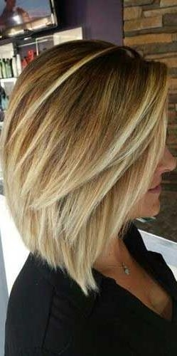 Best 25+ Shoulder Length Bobs Ideas On Pinterest | Medium Length Intended For Medium Long Layered Bob Hairstyles (View 12 of 15)
