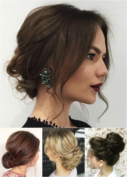 Best 25+ Shoulder Length Hair Updos Ideas On Pinterest | Wedding Inside Medium Long Hair Updos (View 13 of 15)