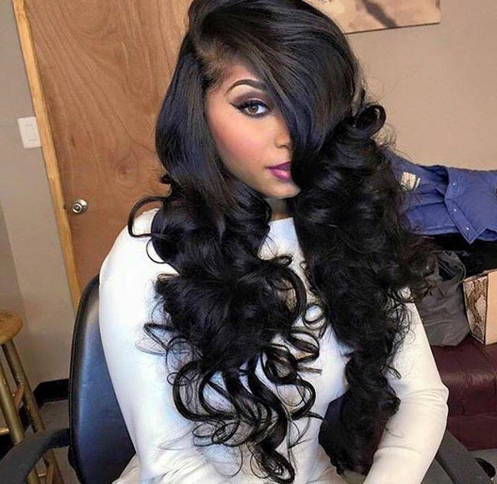 Best 25+ Side Part Weave Ideas On Pinterest | Sew In Weave Throughout Long Hairstyles Deep Side Part (View 8 of 15)