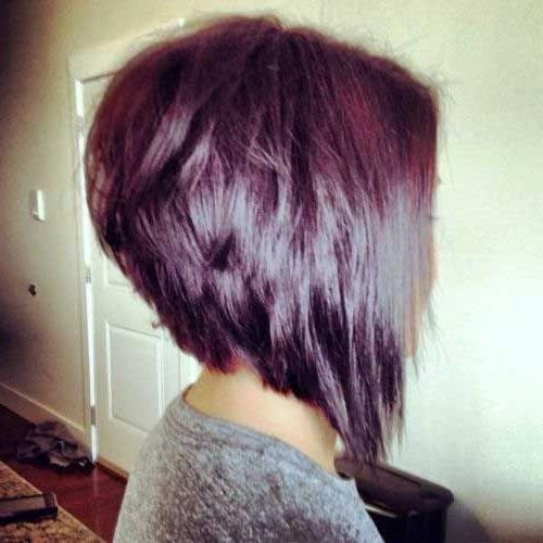 Best 25+ Stacked Bob Long Ideas On Pinterest | Longer Stacked Bob For Hairstyles Long In Front Short In Back (View 3 of 15)