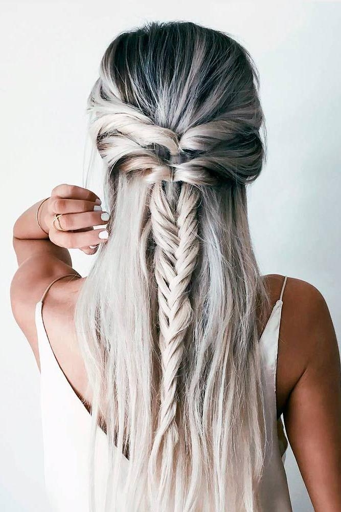 Best 25+ Straight Hairstyles Ideas On Pinterest | Easy Side Braid In Long Hairstyles Dos (View 12 of 15)