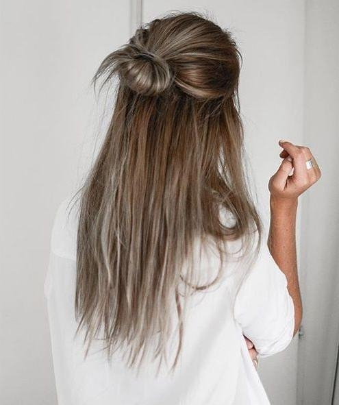 Best 25+ Straight Hairstyles Ideas On Pinterest | Easy Side Braid With Long Hairstyles Down Straight (View 6 of 15)