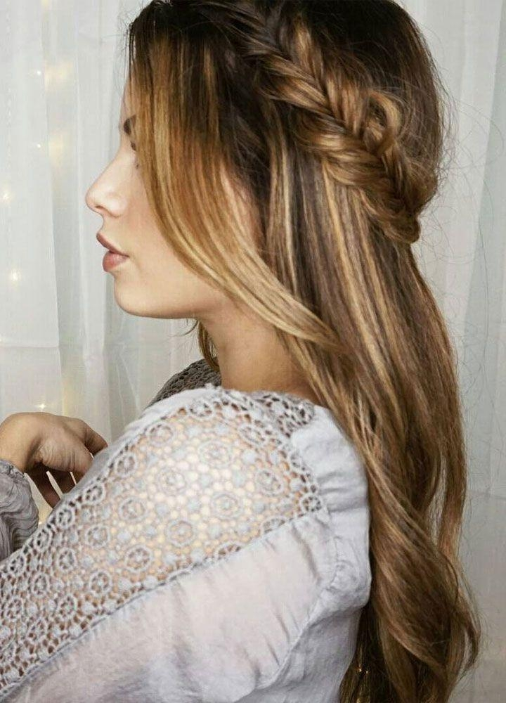Best 25+ Straight Wedding Hairstyles Ideas On Pinterest | Party With Regard To Long Hairstyles Down Straight (View 10 of 15)