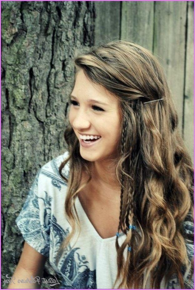 Best 25+ Teen Haircuts Girl Ideas On Pinterest | Hair, Hair With Long Hairstyles For Juniors (Gallery 1 of 15)