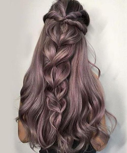 Best 25+ Thick Hair Hairstyles Ideas On Pinterest | Quick Easy Pertaining To Braids For Long Thick Hair (View 10 of 15)