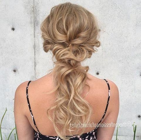 Best 25+ Thin Hair Updo Ideas On Pinterest | Medium Length Hair With Regard To Wedding Updos For Long Thin Hair (View 4 of 15)