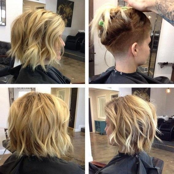 Best 25+ Undercut Bob Ideas On Pinterest | Short Hair Undercut For Long Hairstyles Shaved Underneath (View 2 of 15)
