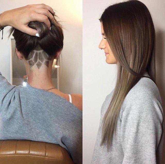 Best 25+ Undercut Long Hair Ideas Only On Pinterest | Hair Inside Long Hairstyles Shaved Underneath (View 4 of 15)