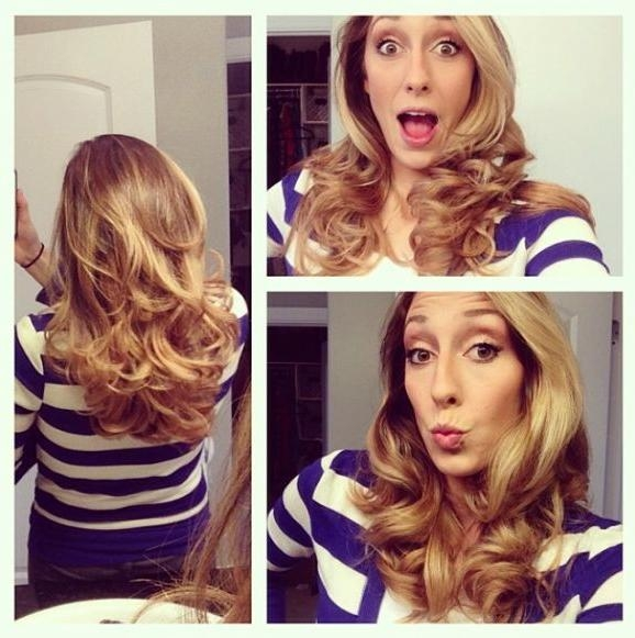 Best 25+ Using Hot Rollers Ideas On Pinterest   Hot Rollers, Hot Pertaining To Curlers For Long Hair Thick Hair (View 3 of 15)