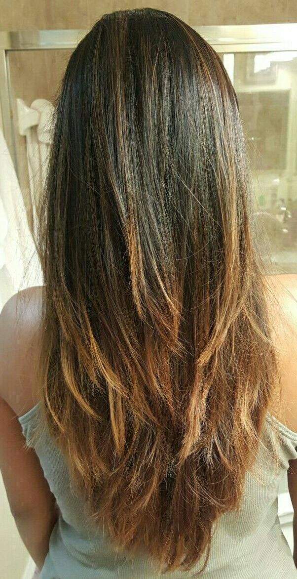 Best 25+ V Layered Haircuts Ideas Only On Pinterest | V Layers With Regard To Long Hairstyles V In Back (View 8 of 15)