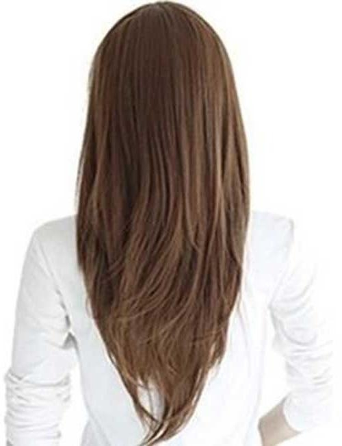 Featured Photo of Long Hairstyles V Shape